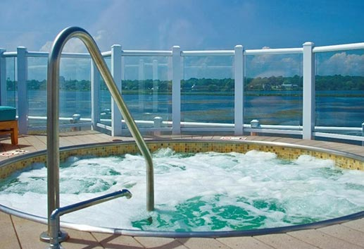 Amenities of Newport Beach Hotel & Suites, Rhode Island
